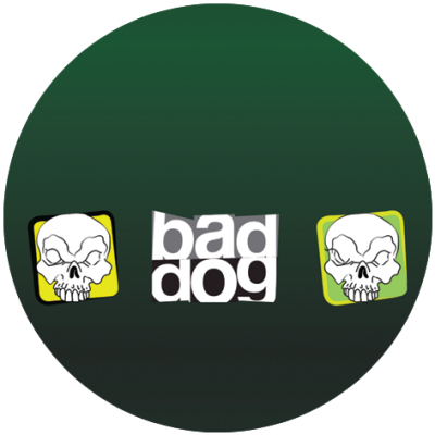 Postroj BAD DOG GREEN
