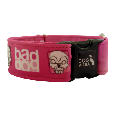 Obojek BAD DOG PINK