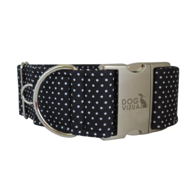 Obojek BLACK DOTS